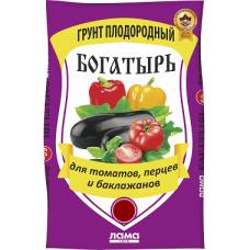 Грунт Богатырь для томатов и перцев 20л